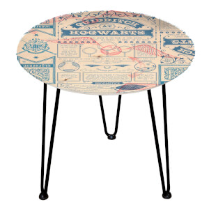 Decorsome Harry Potter Paper Wooden Side Table