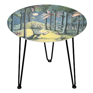 Decorsome Where The Wild Things Are Wooden Side Table