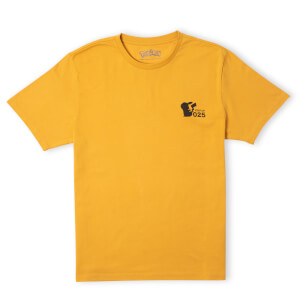 Pokémon Power Up Unisex T-Shirt - Mustard