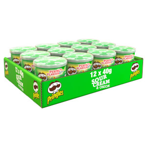 Pringles Sour Cream & Onion 12 x 40g