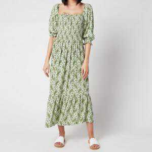 Faithfull the Brand Women's Le Galet Midi Dress - Sable Paisley Print