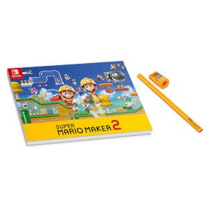 Super Mario Maker 2 Pencil and Pad