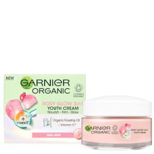 Garnier Organic Rosy Glow 3-in-1 Youth Cream 50ml