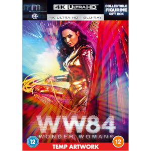 Wonder Woman 1984 - Zavvi Exclusive 4K Ultra HD & Collectable Figurine Box Set