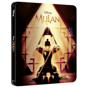 Disney's Mulan (Animated) - Zavvi Exclusive 4K Ultra HD Steelbook (Includes Blu-ray)