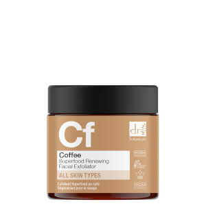 Dr Botanicals Coffee Superfood Renewing Facial Exfoliator 60ml