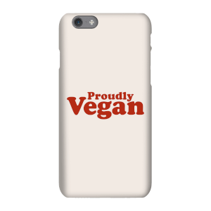 Proudly Vegan Phone Case for iPhone and Android