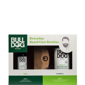 Bulldog Everyday Beard Routine Set (Worth £18.00)