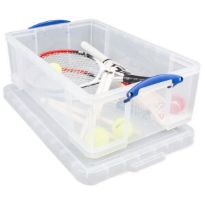 Really Useful Storage Box - Clear - 50L