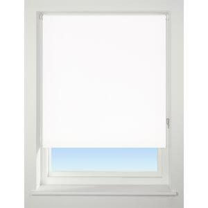 White Blackout Blind - 60cm