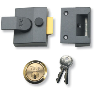 Yale 85 Deadlocking Nightlatch 40mm - Grey