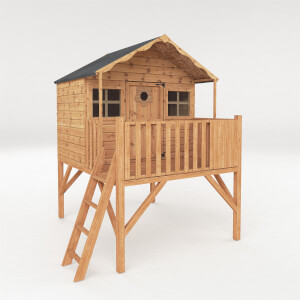 Mercia Honeysuckle Playhouse with Tower and Slide
