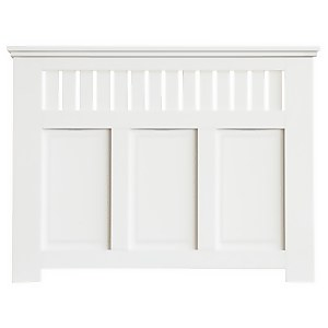 Wilton Radiator Cabinet White FSC - Medium