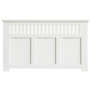 Wilton Radiator Cabinet White FSC - Large