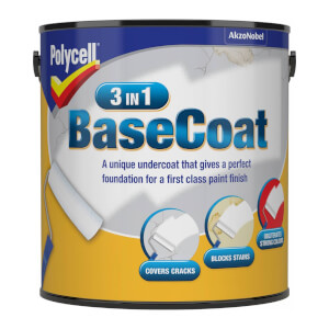Polycell 3 in 1 BaseCoat - 2.5L