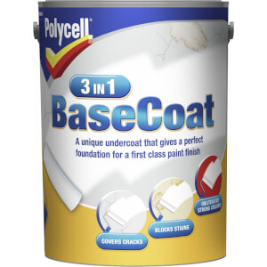 Polycell 3 in 1 BaseCoat - 5L
