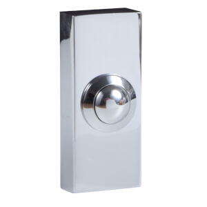 Wired 2204Bc Bell Push Chrome Effect