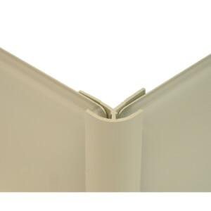 Zenolite Colour Matched PVC External Corner - 250cm - Safari