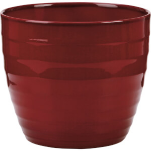 Plant Pot - Dark Red - 16cm
