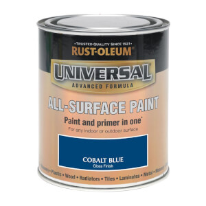Rust-Oleum Universal All Surface Gloss Paint & Primer - Cobalt Blue - 250ml