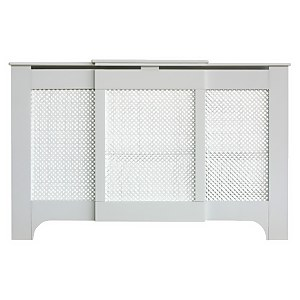 Richmond Radiator Cabinet White FSC - Adjustable - Medium