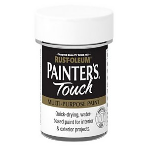 Rust-Oleum Painters Touch Enamel White GLS - 20ml