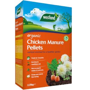 Westland Organic Chicken Manure Pellets - 2.25kg