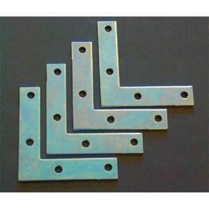 Corner Plate - 75mm - 4 Piece