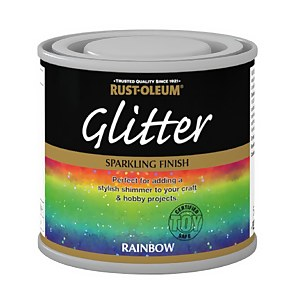 Rust-Oleum Glitter Rainbow Paint - 125ml