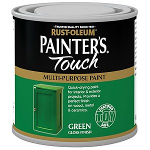 Rust-Oleum Painters Touch Bright Green Gloss - 250ml
