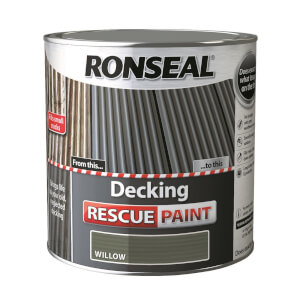 Ronseal Decking Rescue Paint Willow - 2.5L
