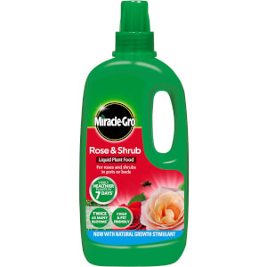 Miracle-Gro Rose & Shrub Concentrated Liquid Plant Food - 1L