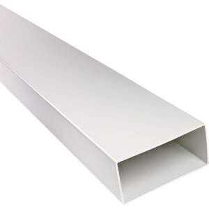 Flat Channel Ducting - 1m