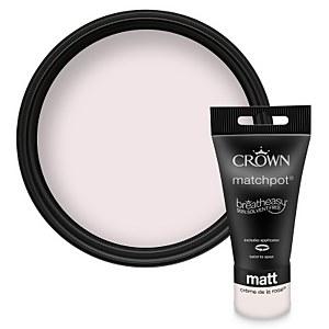 Crown Breatheasy Creme de la Rose - Matt Standard Emulsion - 40ml