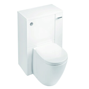 Ideal Standard Senses Space Back to Wall Toilet Unit Package - Gloss White