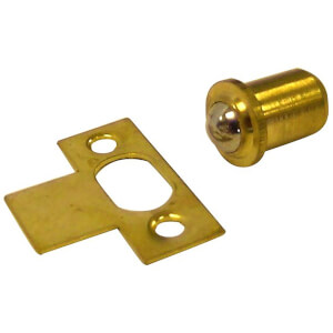 Roller Catch - Brass - 40 x 58 x 20mm