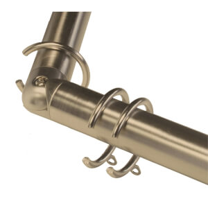 Bay Pole 3m Antique Brass
