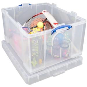 Really Useful Storage Box - Clear - 145L
