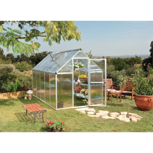 Palram Mythos Silver Greenhouse - 6 x 10ft