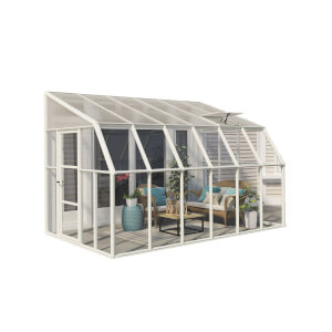 Palram Rion Clear Sun Room - 8 x 12ft