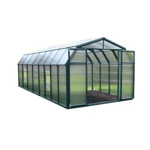 Rion 8 x 16ft Hobby Gardener Green Greenhouse