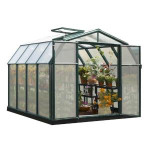 Rion 8 x 8ft Hobby Gardener Green Greenhouse