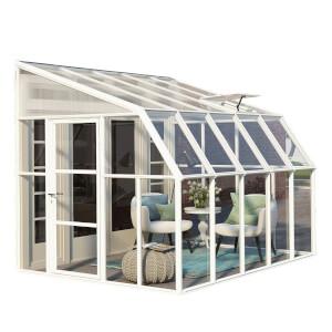 Palram Rion Clear Sun Room - 8 x 10ft