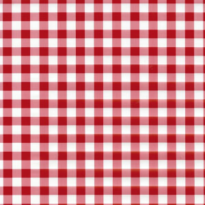 Fablon Sticky Back Plastic - Red Gingham - 450mm x 2m