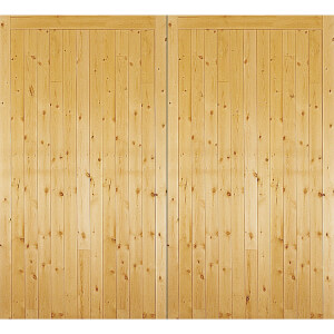 Timber Side Hung Garage Door - 2134mm Wide & 2134mm High
