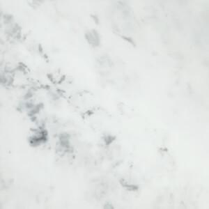 Minerva Carrara White Kitchen Worktop - 150 x 65 x 2.5cm