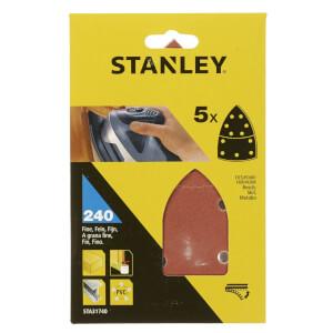 Stanley Deatil Sander Sheets 240G - STA31740-XJ
