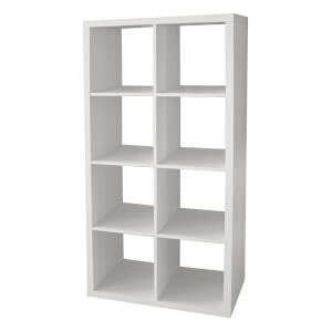 Clever Cube 2 x 4 - White