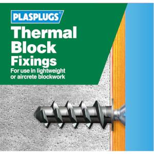 Plasplugs Thermal Block Clip Pack & Drill & Driver x 40