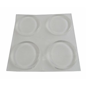Protective Pad Clear 19mm - 8 Pack